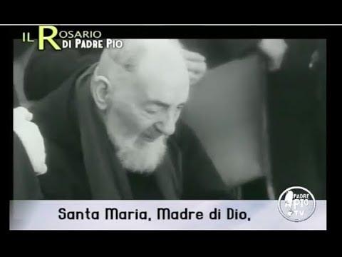 Il Santo Rosario con la voce di Padre Pio Misteri Dolorosi