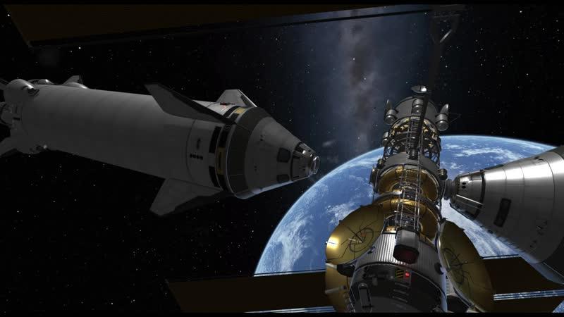Starships docking