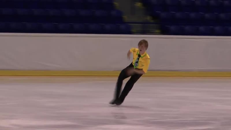 5 Mikhail KOLYADA RUS ISU JGP Kosice 2013 Junior Men Short Program 720p