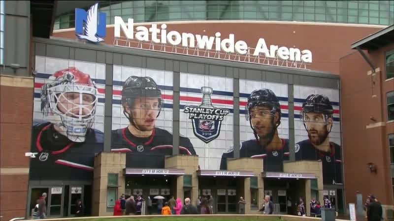 Stanley Cup Playoffs 2018. Game 6. Blue Jackets vs. Capitals. 23.04.2012