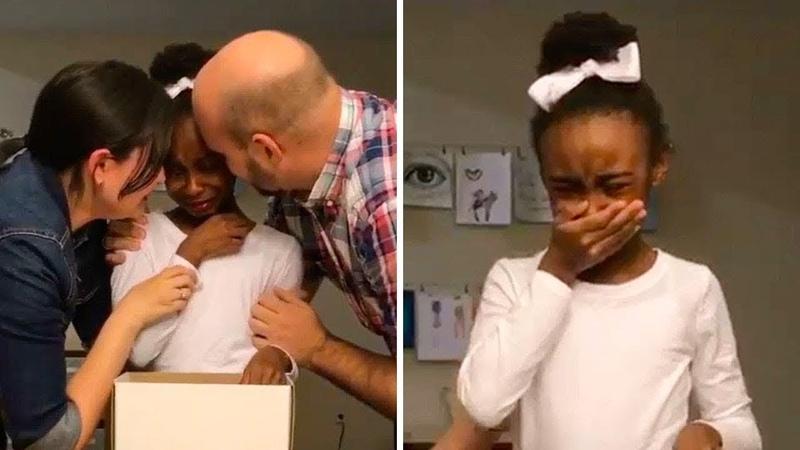 Они удочерили 5 летнюю девочку когда она научилась говорить по английски они узнали страшную правду