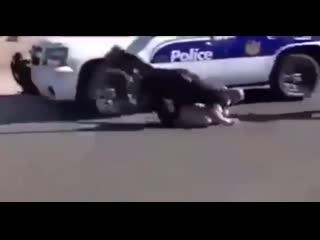 Полицейский и неудачный побег