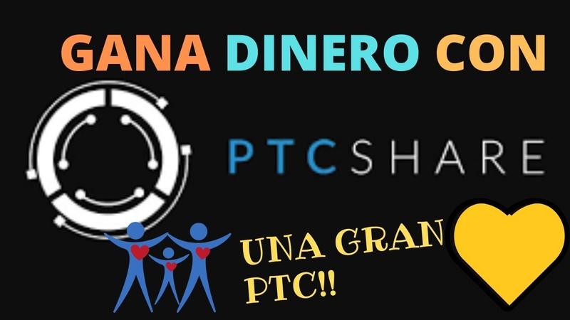 68-COMO GANAR DINERO Y COMO FUNCIONA PTC SHARE 2020