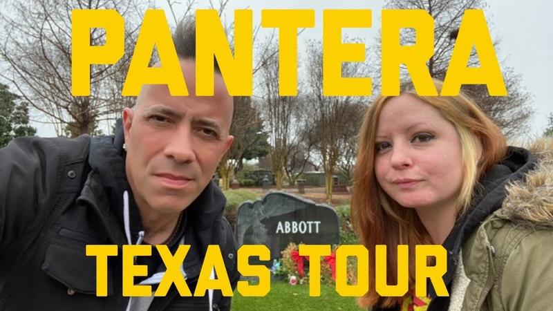 Pantera Dimebag Darrell Abbott and Vinnie Paul Graves Homes Childhood Home Studios Texas Tour