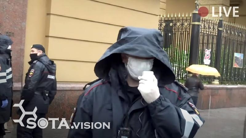 ОДИНОЧНЫЕ ПИКЕТЫ В МОСКВЕ Маски шоу