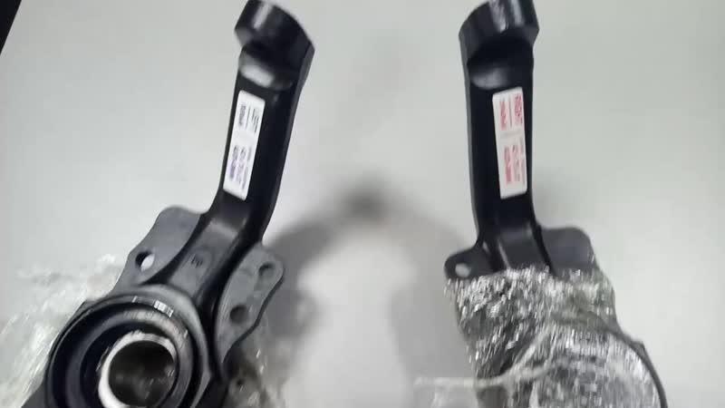 Комплект ступиц усиленных и поворотных кулаков двухрядный подшипник BMW Герман
