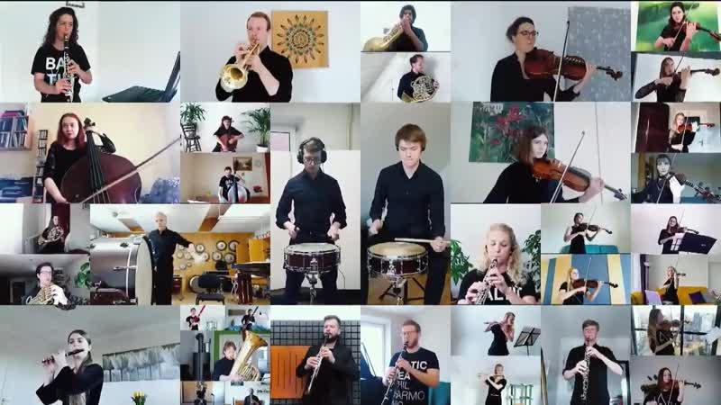 Baltic Sea Philharmonic Kristjan Järvi Music for Peace Livestream on 8 May