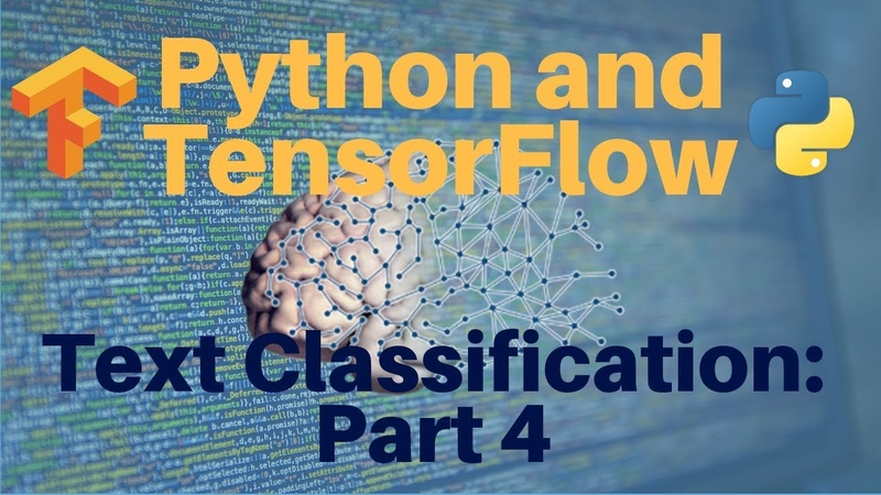 Python and TensorFlow Text Classification Part 4