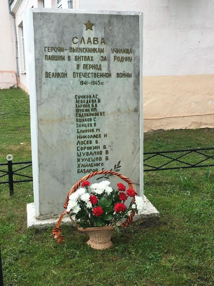 8 мая 2020-возложение цветов к обелиску павшим воинам., изображение №5