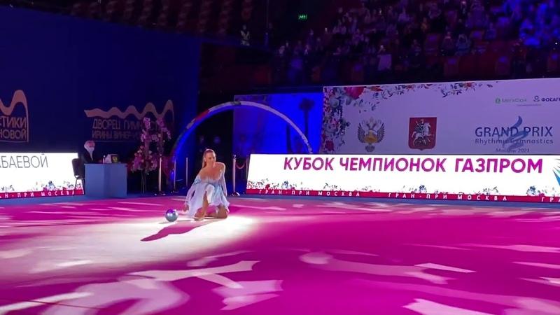 Alexandra Soldatova Grand Prix Moscow 2021 Opening Ceremony Gala