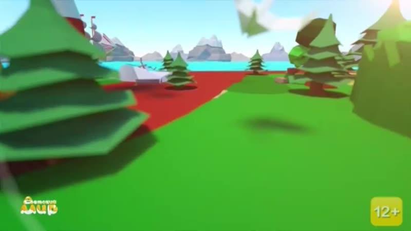 Анонс мультика Ювик с планеты Ю заставка Премьера и начало мультика Фиксики Детский Мир 8 01 2020