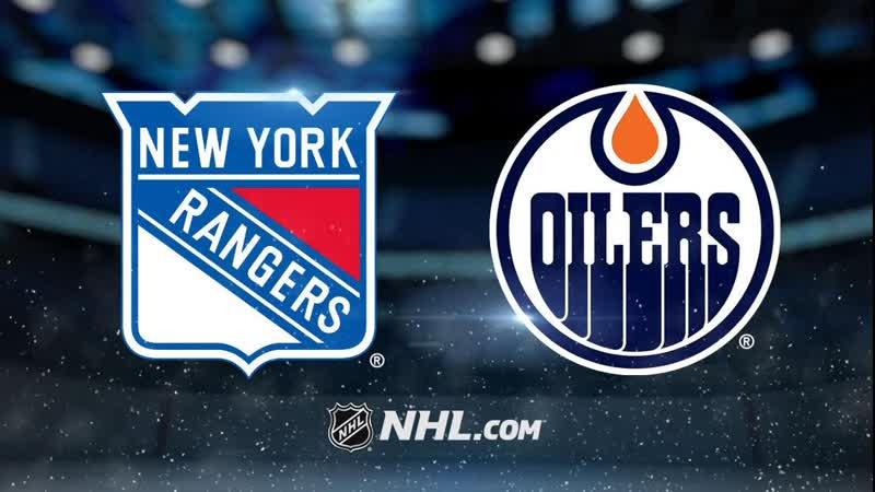 NHL | New York Rangers vs Edmonton Oilers НХЛ | Нью-Йорк Рейнджерс и Эдмонтон Ойлерз