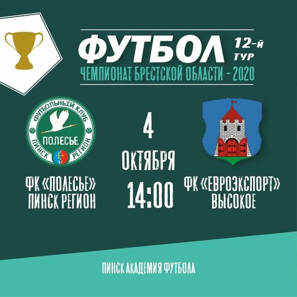 Чемпионат Брестской области. 12 тур.