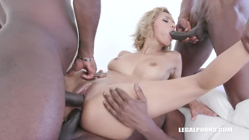 Veronica Leal Anal Creampie, Latin, Interracial, DP, Gape, Gangbang, Anal, Lingerie, Porn,