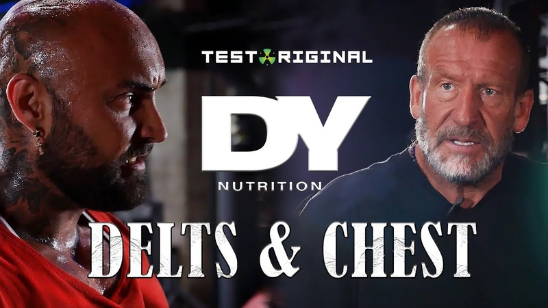 Dorian Yates Training Camp | Delts, Triceps Chest, Biceps | Around the Globe 3