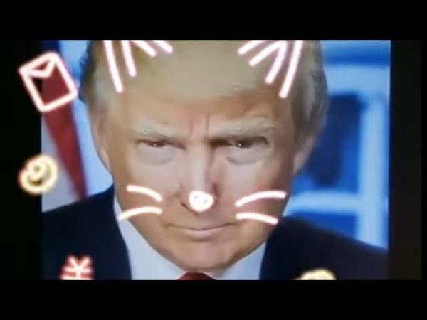 Trump senpai teaches obama kun how to beatbox