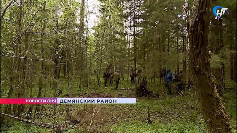Поисковый отряд Находка обследовал обломки советского самолёта времён Великой Отечественной войны