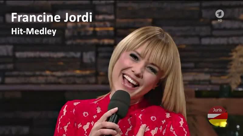 Francine Jordi Hit Medley Silvester Stadlshow aus Linz 2015