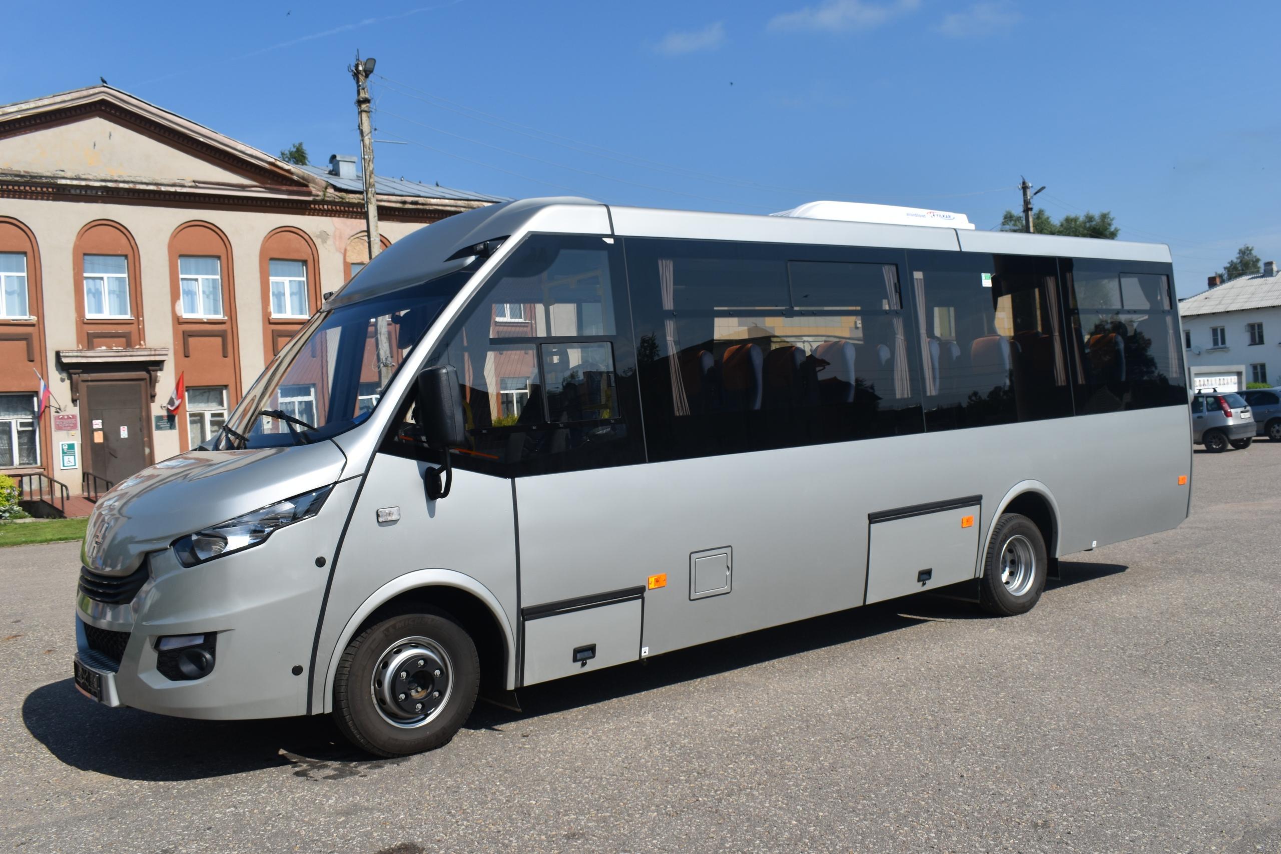Новый автобус для перевозки пассажиров появился в районе Тверской области