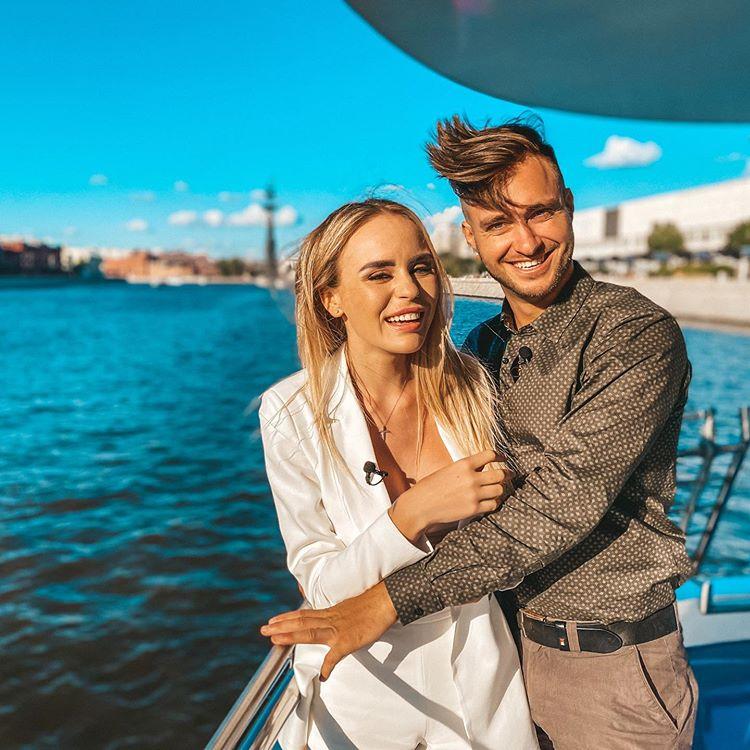 Милена Безбородова и Алексей Безус счастливы вместе
