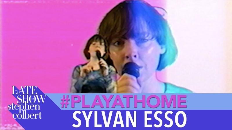 Sylvan Esso Rewind - Late Show PlayAtHome