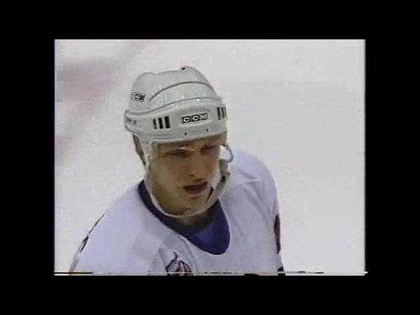 Darius Kasparaitis attacks Mario Lemieux not once but twice in game 6 1993