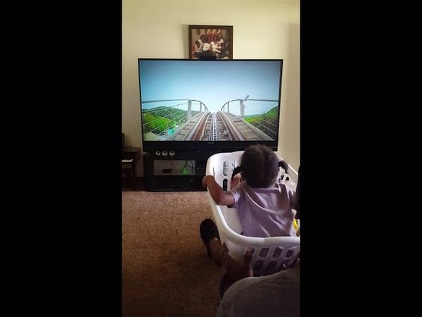Kayla's 3D Rollercoaster