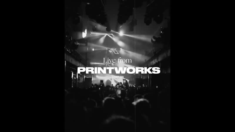 Ben Böhmer Live from Printworks London Ben Böhmer X Spencer Brown Phases
