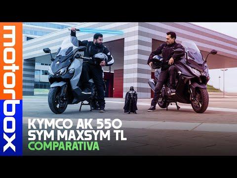 KYMCO AK 550 vs SYM Maxsym TL MEGLIO del TMAX