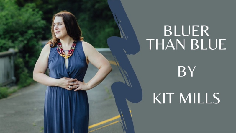 Bluer than Blue for solo clarinet composed by Kit Mills Kristen Mather de Andrade clarinet