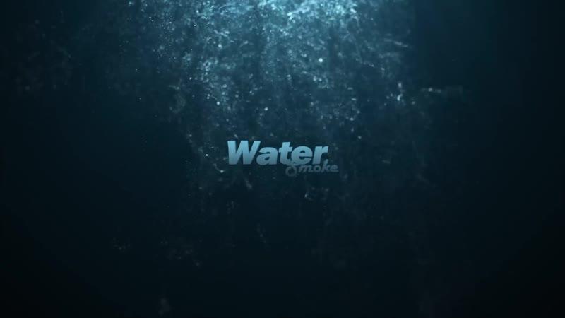 Интро для Instagrama Кальянной Watersmoke Анимированный логотип