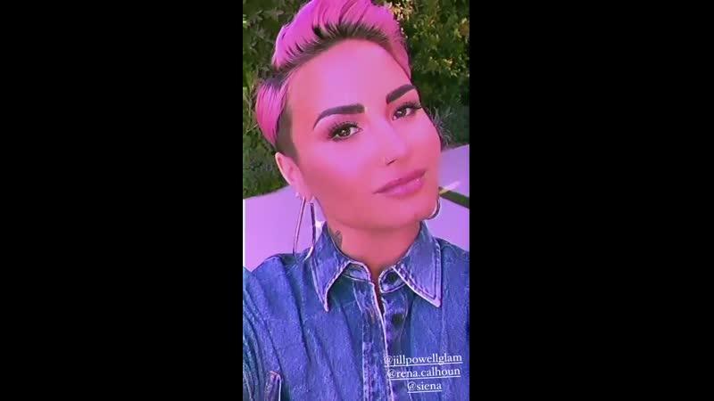 Demi via Instagram story ddlovato