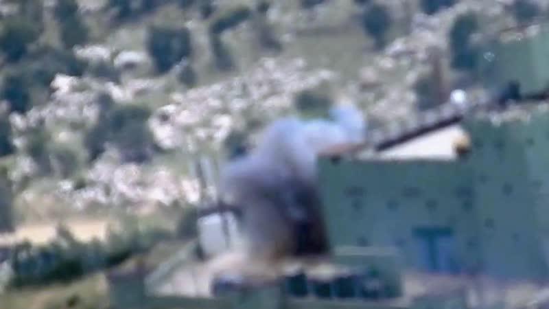 Арийские горцы подбили танк манкуртов M60 T