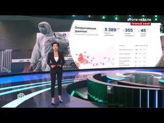 Телеведущая НТВ в прямом эфире заявила о более 40 тысячах погибших от коронавируса в России