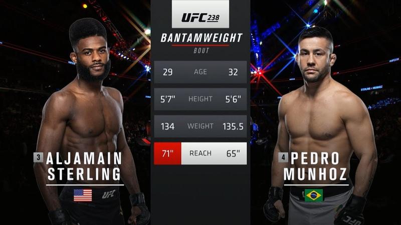 UFC 250 Free Fight: Aljamain Sterling vs Pedro Munhoz