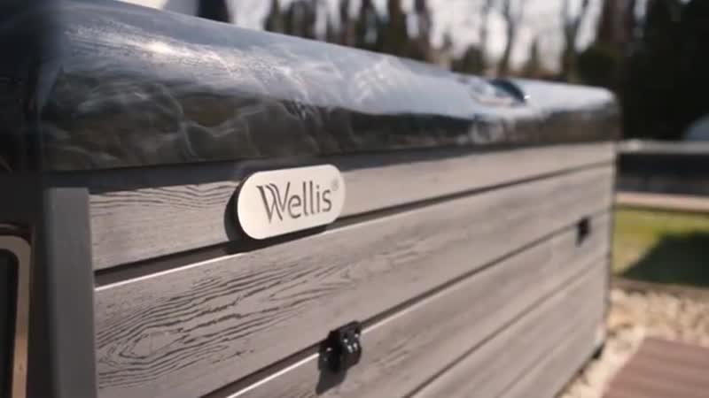Обзор на SPA-бассейн WELLIS