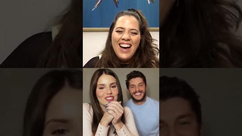 CAMILA QUEIROZ E KLEBER TOLEDO LIVE INSTAGRAM 2020