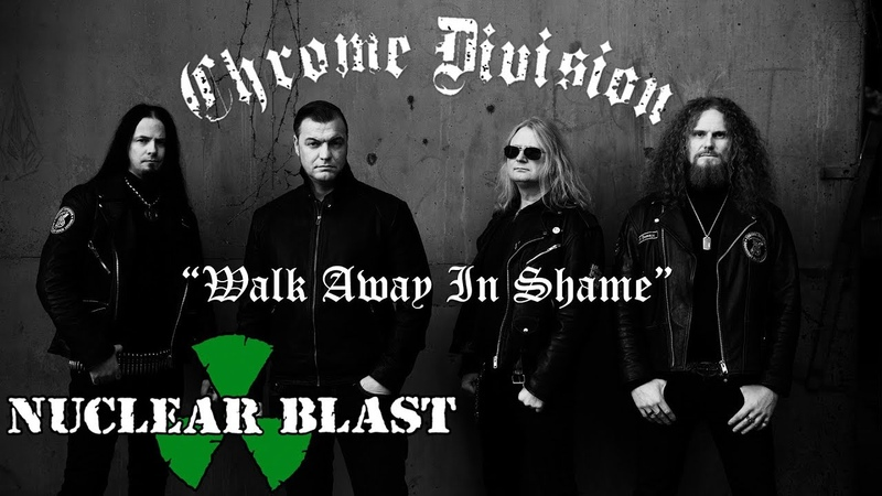 CHROME DIVISION Walk Away In Shame ft Miss Selia OFFICIAL LYRIC VIDEO