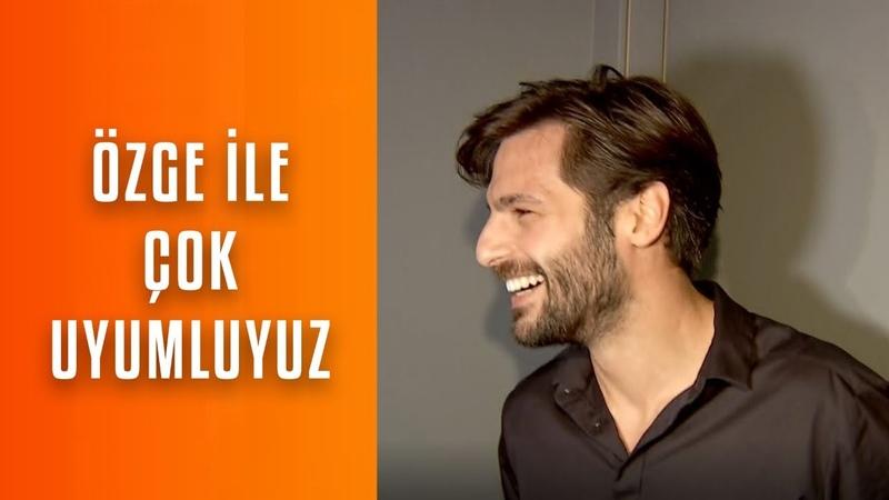 Serkan Çayoğlu Özge ile yine aynı projede olmayı çok istiyoruz