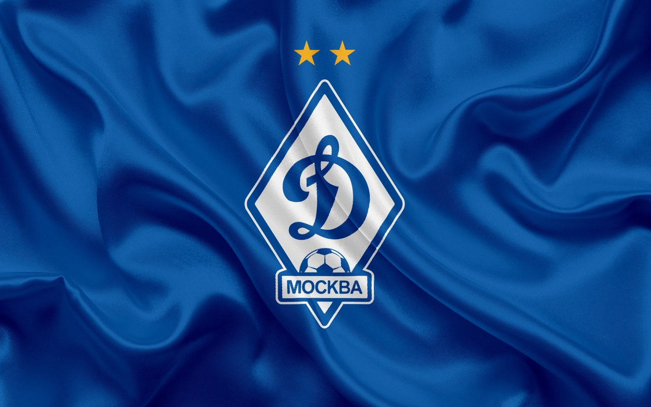 Флаг ФК Динамо Москва