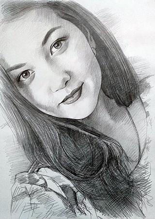 Цветной портрет с фото в северодвинске