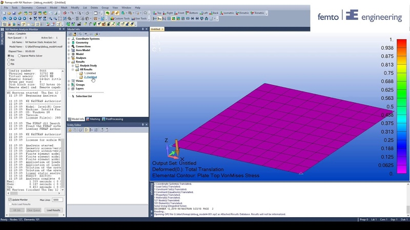 How to debug your Femap Model PART 4 Bailout function 2