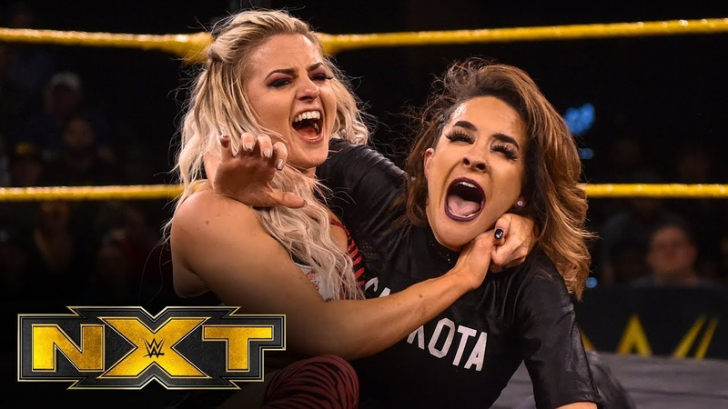 Candice LeRae vs Dakota Kai WWE NXT Feb 12 2020