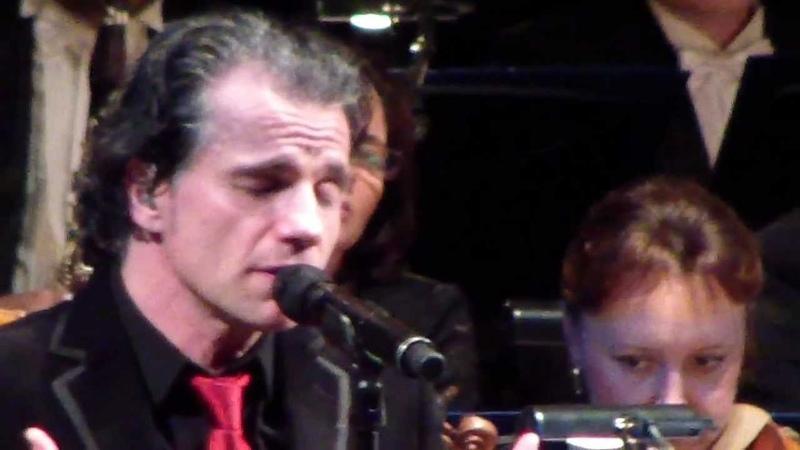Bruno Pelletier Quand les hommes vivront d'amour Москва 30 12 2012