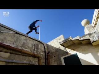 Один день из жизни каскадера Assassins Creed (Дэмиен Уолтерс)