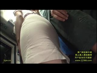 Секс в автобусе японки