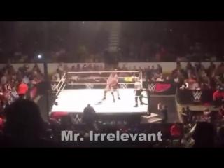 Wrestling Online: BROCK LESNAR vs RANDY ORTON Full Match WWE Live Chicago 2016