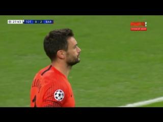 Тоттенхэм  Барселона. 0:2. Иван Ракитич.