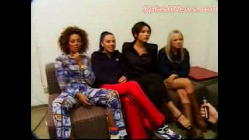 Spice Girls - Spiceworld Tour Report Interview - Frankfurt 03.04.1998