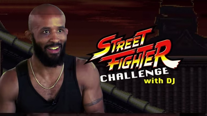 Demetrious Johnson's Street Fighter Challenge   ONE Feature